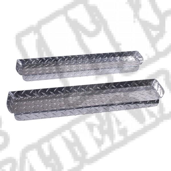 Nakładka progu, aluminium TJ