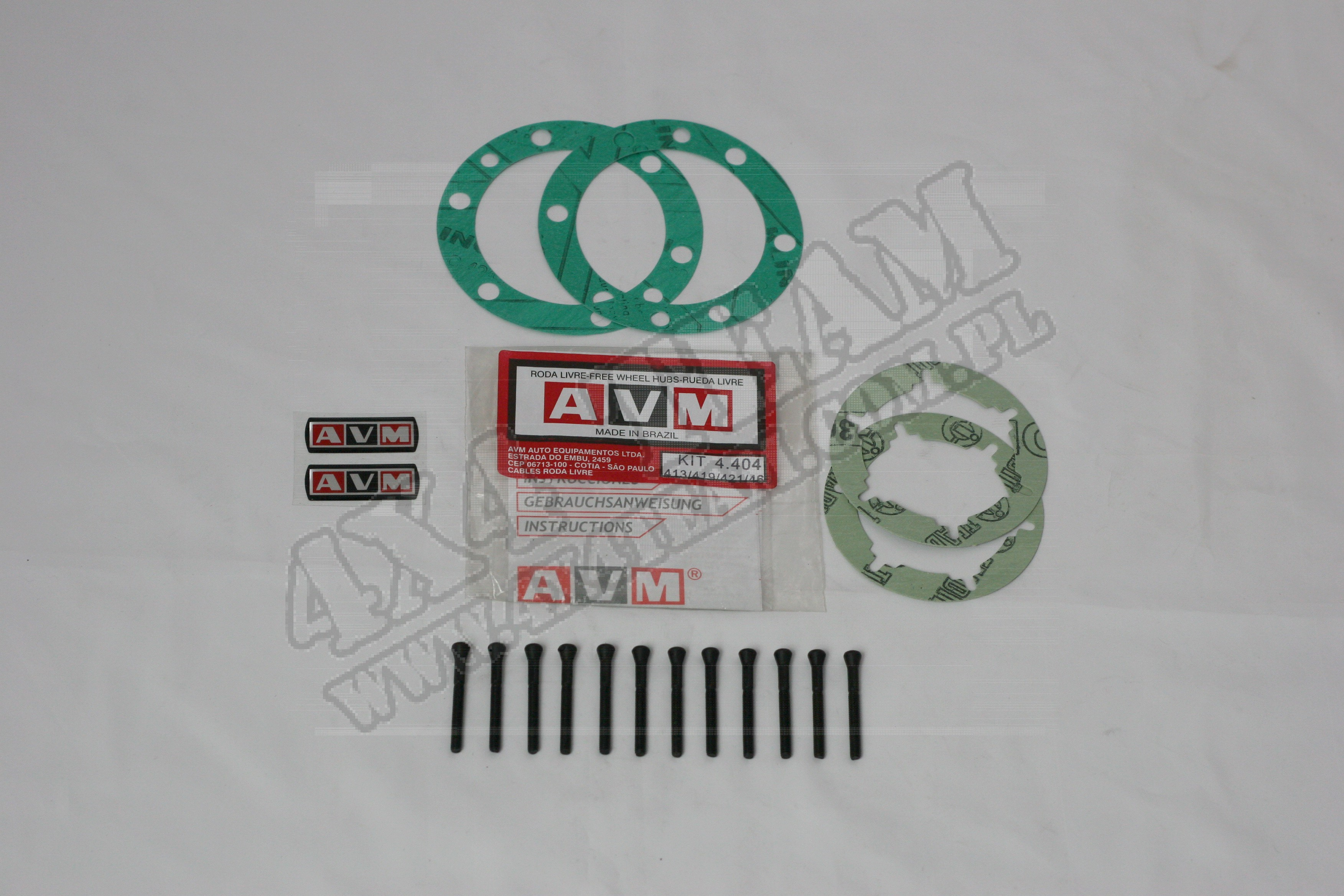 Zestaw serwisowy AVM 4.404