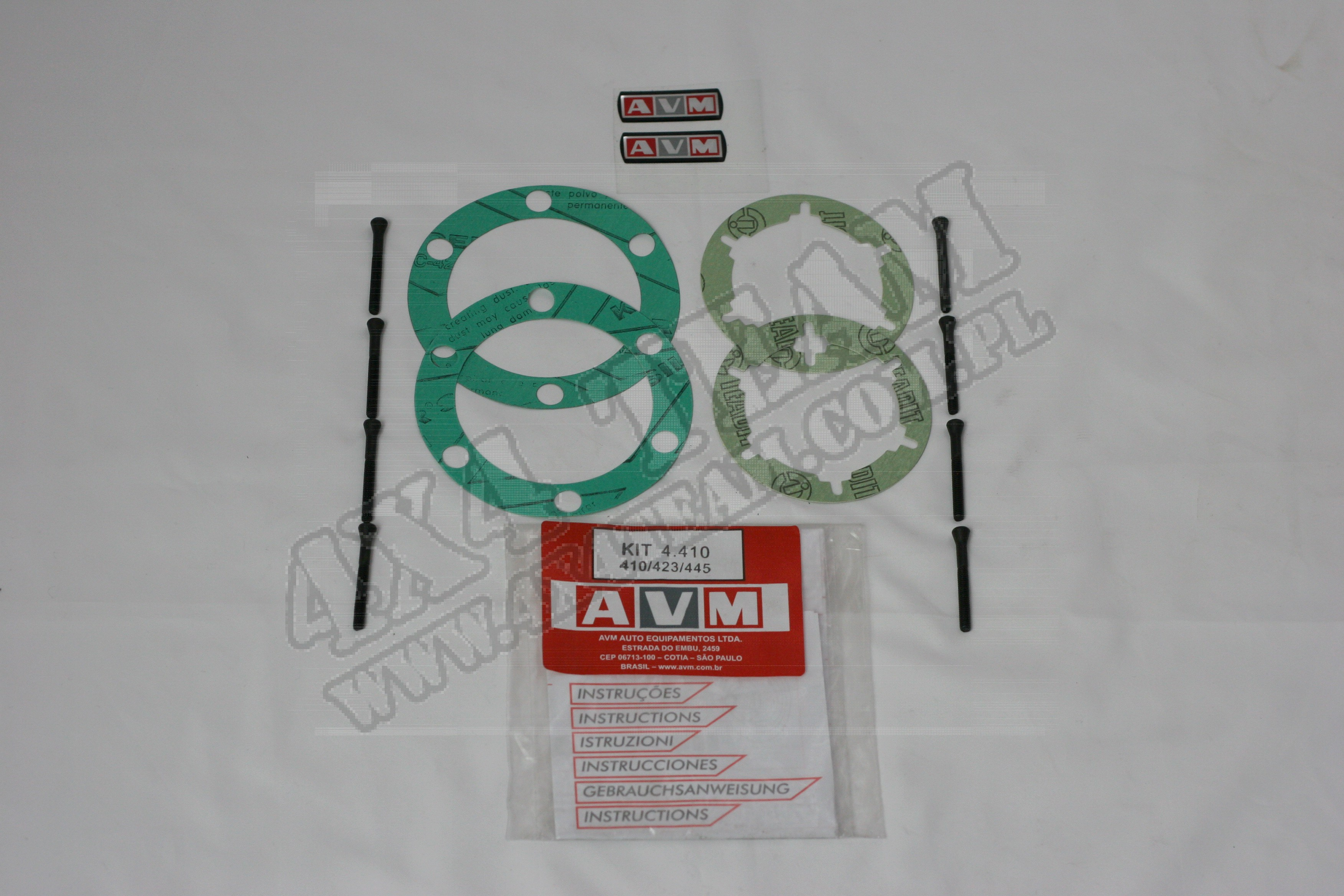Zestaw serwisowy AVM 4.410