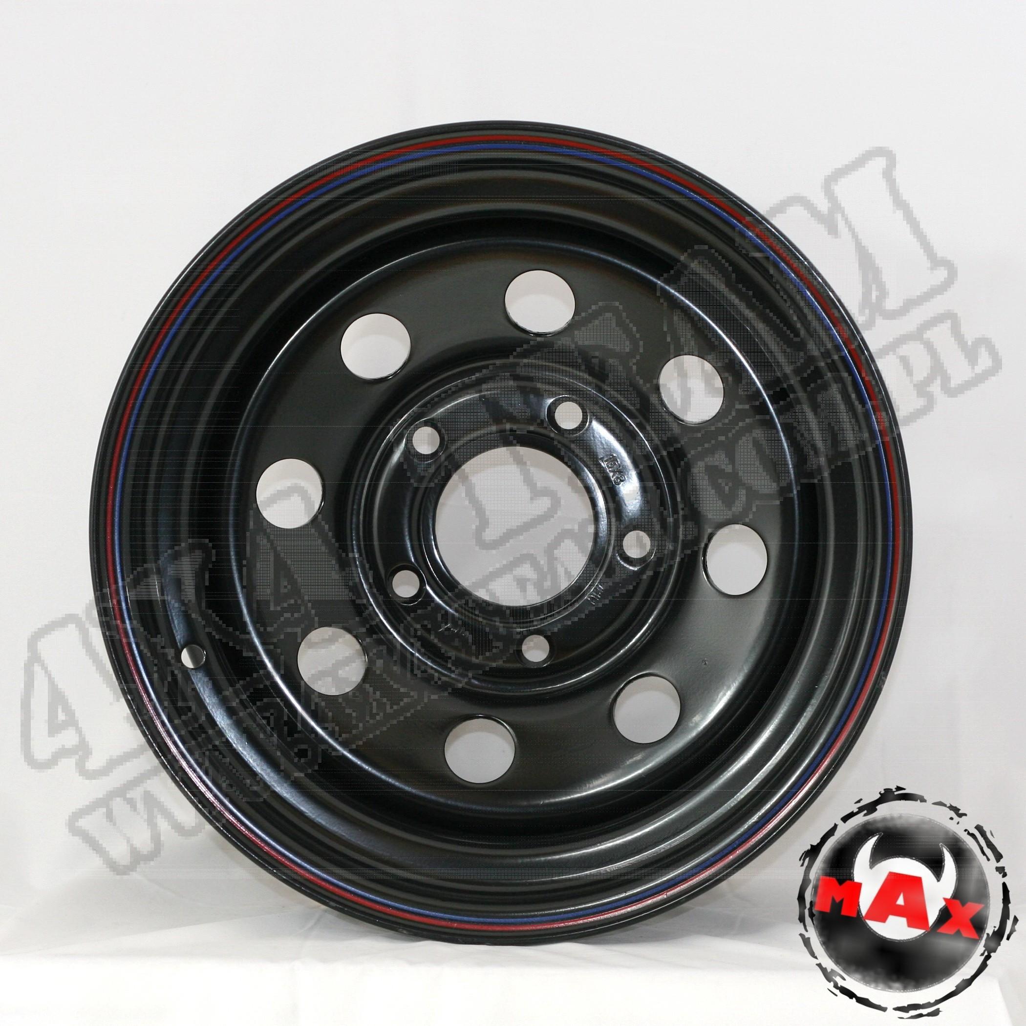 15X8  ET 0 SW-04 5/130 czarna