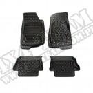 Komplet dywaników, czarny, 18-19 Jeep Wrangler JL, 2 drzwiowy