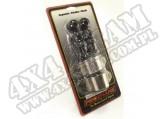 Suspension Stabilizer Bar Bushing Kit, Front, Black, 7/8 In; 84-01 XJ
