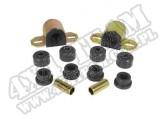 Suspension Stabilizer Bar Bushing Kit, Front, Black, 1-1/8; 84-01 XJ