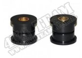 Suspension Track Bar Bushing Kit, Rear, Black; 93-98 Grand Cherokee ZJ