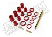 Suspension Control Arm Bushing Kit, Front, Red; 93-98 Grand Cherokee