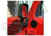 Mocowania lusterek czarne 07-15 Jeep Wrangler (JK)