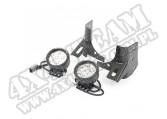 Zestaw lamp okrągłych LED z mocowaniami 97-06 Jeep Wrangler