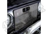Osłona atrapy, stal nierdzewna, 97-06 Jeep Wrangler
