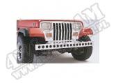 Zderzak przedni z otworami, stal nierdzewna, 97-95 Jeep Wrangler YJ