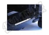 Osłony progów, stal nierdzewna, 97-06 Jeep Wrangler TJ