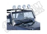 Poprzeczka na reflektory, stal nierdzewna, 97-06 Jeep Wrangler (TJ)