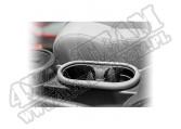 Uchwyt do kubków, srebrny, 07-10 Jeep Wrangler JK