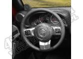 Ozdoby ramion kierownicy, grafit, 11-15 Jeep Wrangler JK
