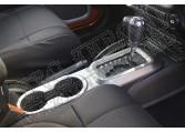 Ozdoba konsoli śrokowej, grafit, autom. 11-15 Jeep Wrangler JK