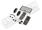 Zestaw akc. maski, czarny chrom, 98-06 Jeep Wrangler TJ