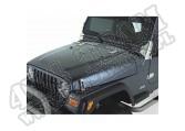 Zestaw akc. maski, stal nierdzewna satyna, 98-06 Jeep Wrangler TJ