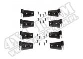 Zestaw zawiasów, 8 elementów; 07-18 Jeep Wrangler Unlimited JKU, 4 Door