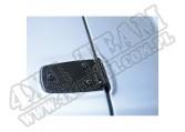 Zawiasy maski, czarne, 76-95 Jeep CJ/Wrangler YJ