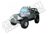 Poprzeczka do mocowania reflektorów, czarna, 97-06 Jeep Wrangler