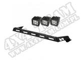Zestaw reflektorów, 3 reflektory LED, 07-15 Jeep Wrangler (JK)