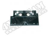 Mocowanie tablicy rejestracyjnej, czarne, 87-95 Jeep Wrangler YJ
