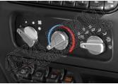 Zestaw pokręteł klimatyzacji, aluminium, 99-06 Jeep Wrangler TJ