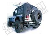 """Zderzak tylny z gniazdem 2"""", 87-06 Jeep Wrangler"""
