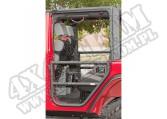 Drzwi rurowe tylne, czarna tekstura, 07-15 Jeep Wrangler JK