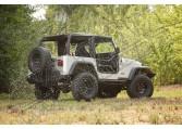 Rurowe drzwi, zamki, 97-06 Jeep Wrangler (TJ)