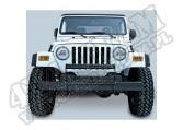 Orurowanie czołowe, czarny połysk, 97-06 Jeep Wrangler