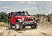 Odbój, czarna satyna, 07-15 Jeep Wrangler