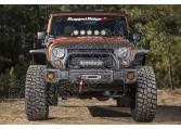 Krótki zderzak Spartacus, czarny; 07-18 Jeep Wrangler JK/JKU