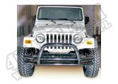 Zderzak rurowy z poprzeczką 76-06 Jeep CJ/Wrangler