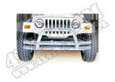 Zderzak rurowy przedni, stal nierdzewna, 76-06 Jeep