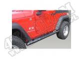 "Progi rurowe boczne 3"", czarne, 07-15 Jeep Wrangler JK"