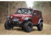 Zestaw nakładek błotników 07-15 Jeep Wrangler JK