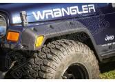 """Zestaw nakładek błotników All Terrain, 4.75"""", 97-06 Jeep Wrangler TJ"""