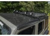Bagażnik dachowy z koszem; 18-19 Jeep Wrangler JL 4-drzwiowy z hardtopem