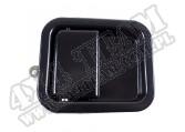 Klamka drzwi, czarna, 81-06 Jeep CJ/Wrangler