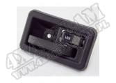 Klamka wewnętrzna prawa, czarna, 87-95 Jeep Wrangler YJ