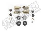 Zestaw bębenków zamka, bez kluczyków i zapadek; 95-01 Jeep YJ/TJ/XJ/ZJ