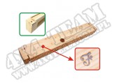 Drewniane wypełnienie przedniego zderzaka 41-45 Ford GPW