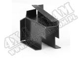Mocowanie stelażu dachu, lewy przód, 46-53 Willys CJ2A/CJ3A