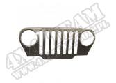 Nakładka atrapy, chrom, 97-06 Jeep Wrangler