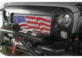 Zestaw Spartan, Flaga USA, 07-15 Jeep Wrangler JK