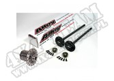 Axle Shaft Kit and Detroit Locker; 84-89 Jeep Models, Grande 35 Rear
