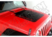 Kalkomania na maskę, Rugged Ridge, 07-15 Jeep Wrangler