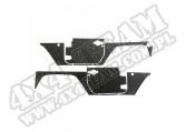 Zestaw paneli ochronnych do 2-drzwiowego 07-15 Jeep Wrangler