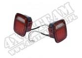 Zestaw tylnych lamp LED 76-06 Jeep CJ/Wrangler