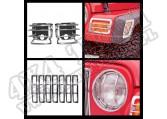 Zestaw osłon Euroguard stal nierdzewna 97-06 Jeep Wrangler TJ
